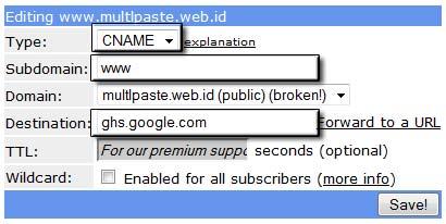 editing domain